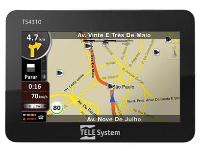TELE 252520SYSTEM 2525201 Comprar GPS Tele System Barato, Ponto Frio, Preços