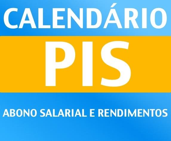 Calendário PIS/Pasep