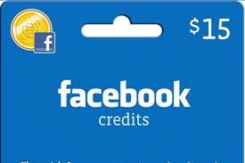 facebook 20creditos Como comprar Créditos no Facebook, Credits