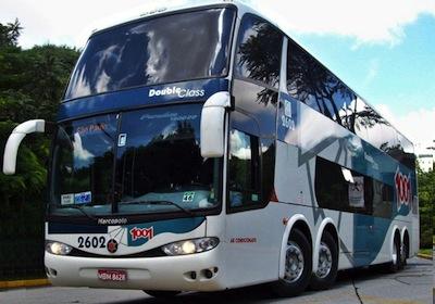 onibus auto viac CC A7ao 1001 Auto Viação 1001, Passagem e Fretes no Sul