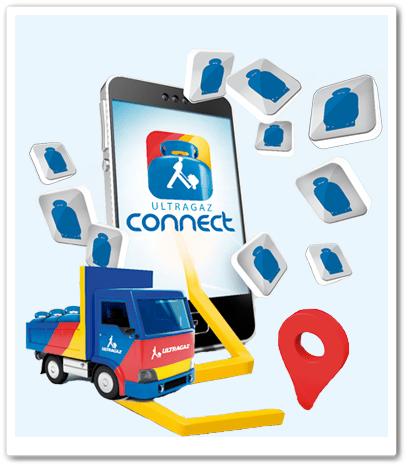 Ultragaz Connect, Pedido de Gaz pelo Celular