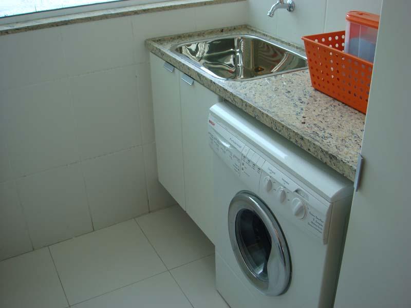 lavanderia apartamento Modelos de Pedras para Áreas de Serviço