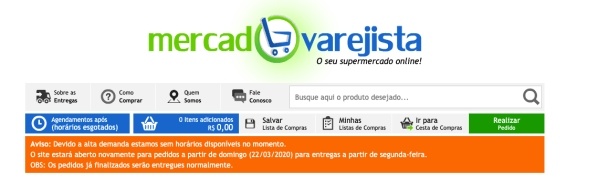 Fazer compras em supermercado online, uberlândia. Comprar online em supermercado, Minas Gerais. Supermercado com pagina para compras online em Uberlândia