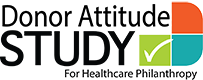 Donor Attitude Study For Healthcare Philanthropy Logo