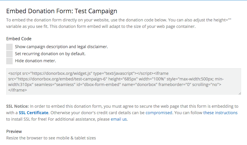 How to embed recurring donation forms on weebly nonprofit blog 2 thecheapjerseys Gallery