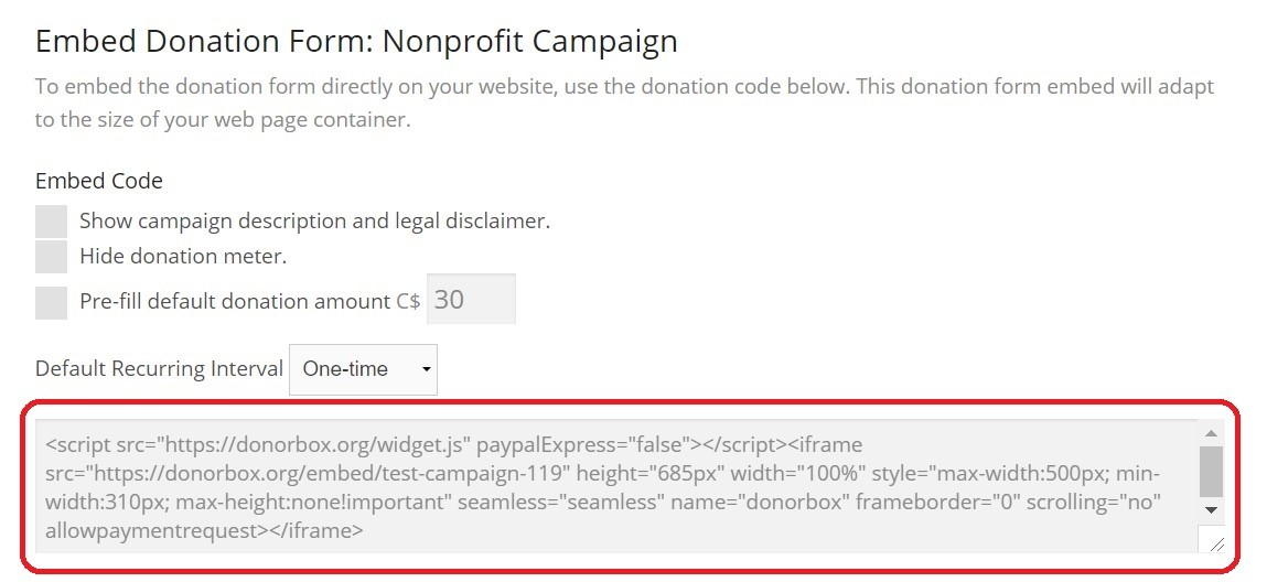 get started with donorbox donation forms step by step guide