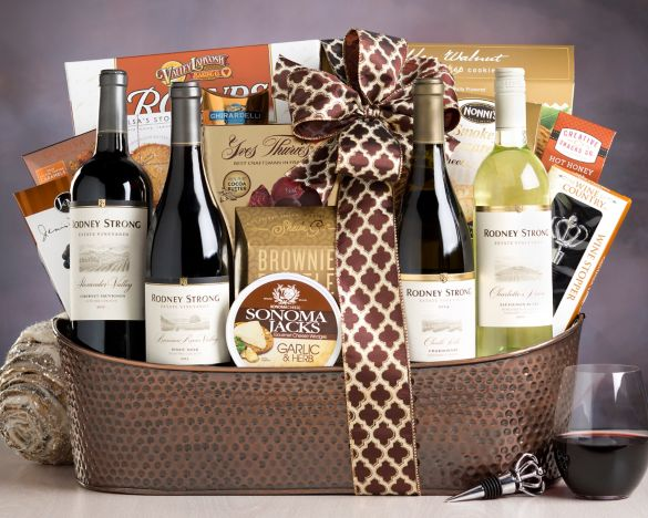 Gift basket - thanksgiving fundraising ideas