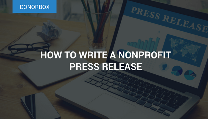 non profit press release