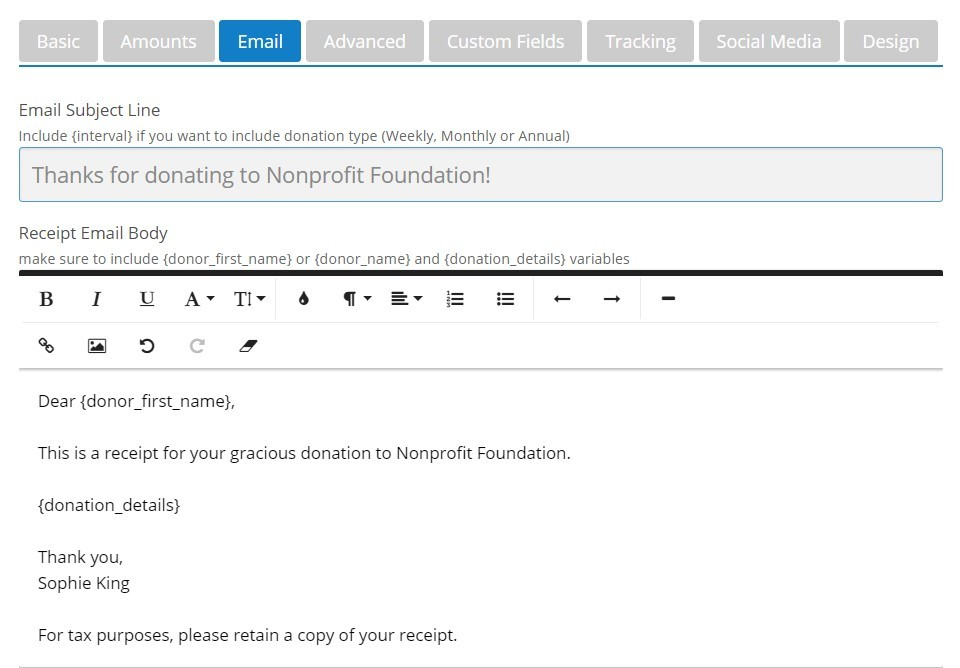 how to send email along with paypal recurring payment