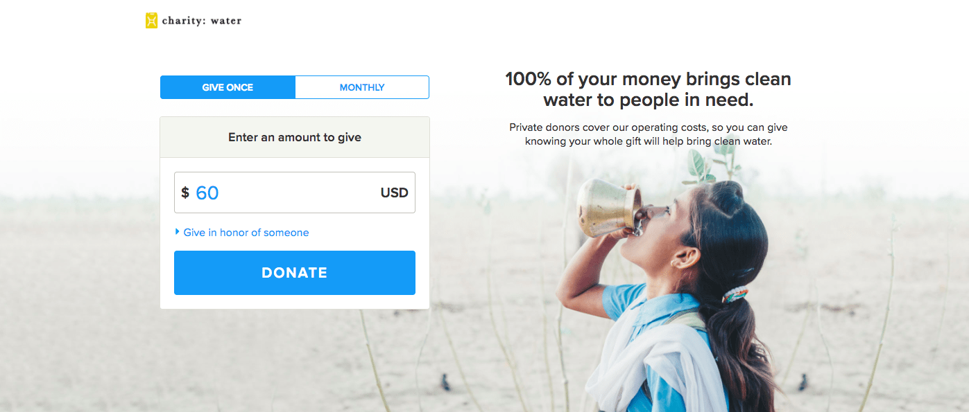 donation page best practices - donation page tips