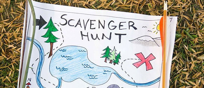 Elementary School Fundraising Ideas - scavenger hunt