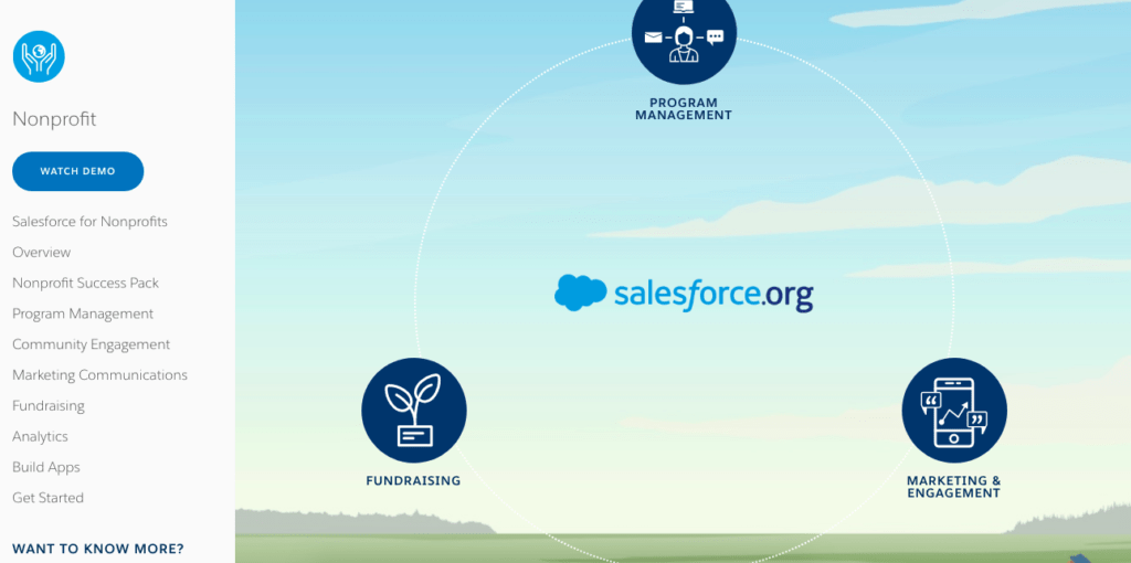 salesforce - fundraising tools for nonprofits