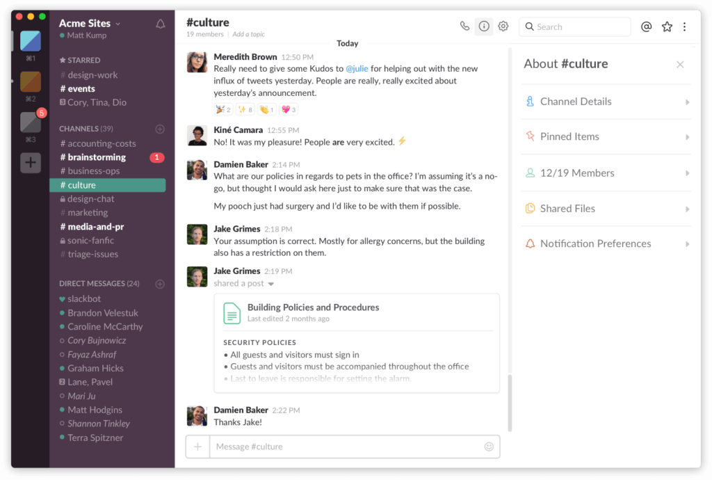 Slack - tools for nonprofits