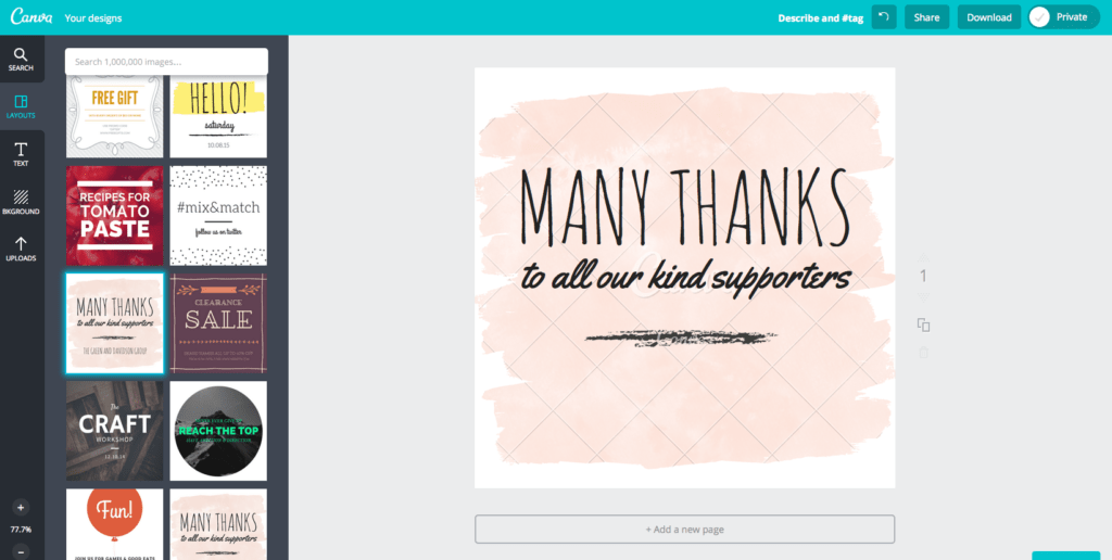Canva - Tools for nonprofits