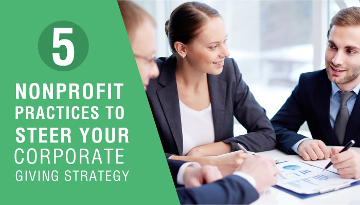 Corporate Giving Strategy for nonprofits