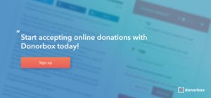 Donorbox - donation button
