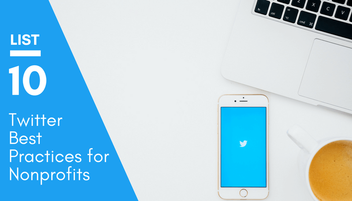 Twitter Best Practices for Nonprofits