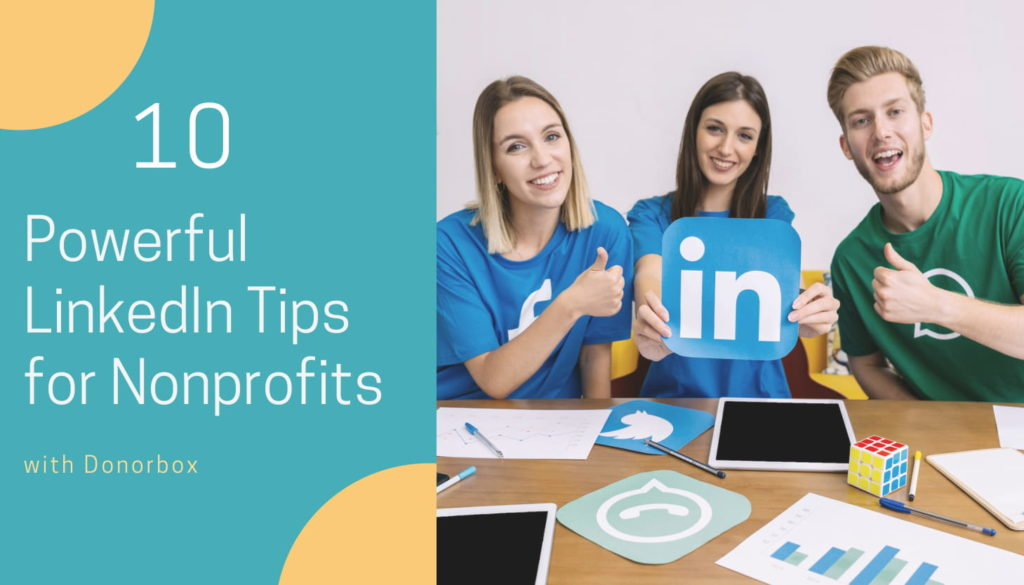 LinkedIn Tips for Nonprofits