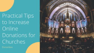 Tips to Increase Online Donations for Churches