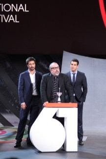 Hugo Silva,Alex de la Iglesia y Mario Casas_0763