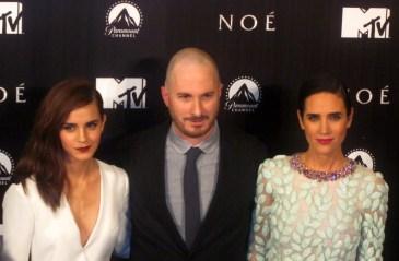 Darren Aronofsky, Emma Watson y Jennifer Connelly