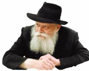 Jewish man prays for peace