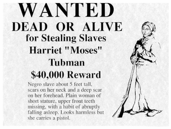 Can you hold steady A true story of Harriet Tubman Do