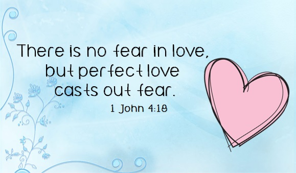 Image result for picture 1 jn 4:18 Bible