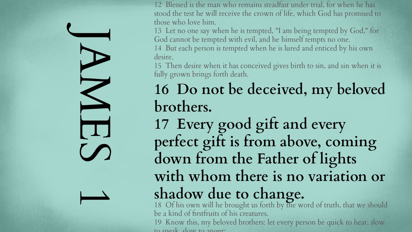 Image result for images james 1:16-17
