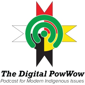 The Digital PowWow logo, brand extension of r/IndianCountry
