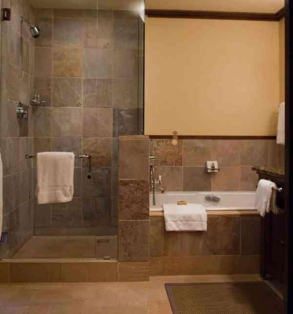 Bathroom Design with Walk-In Shower