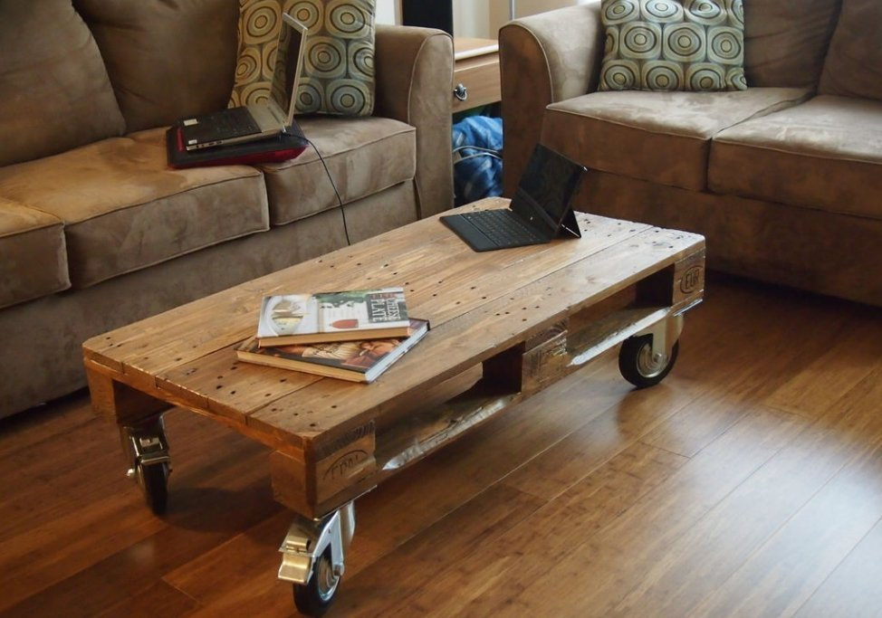 living room coffee table decorations wall decoration ideas 15 amazingly cool to brew tify your simple wooden pallet on wheels