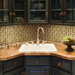 Corner Kitchen Sink Commercial Doors Design Ideas For Your Perfect Home Undermount Modern Bathroom Storage Mirror
