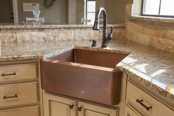 kitchen corner sinks makeover companies sink design ideas for your perfect home granite coated countertop with image