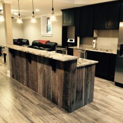 Oak Kitchen Islands Built In Wine Rack Cabinets 31 Most Favorite Ideas Of Reclaimed Barn Wood Recovered Island With Granite Countertop