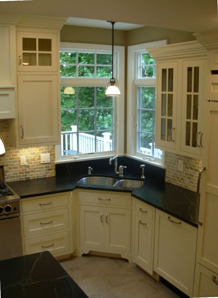 kitchen sink without cabinet curtains for corner design ideas your perfect home white image