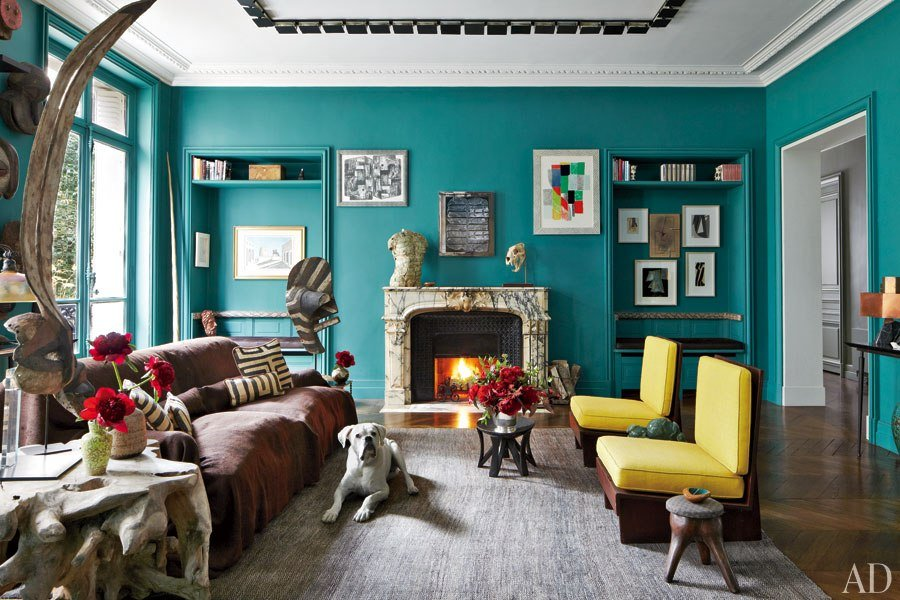 living room ideas with turquoise walls white furniture packages 51 stunning to freshen up your home bedroom decor