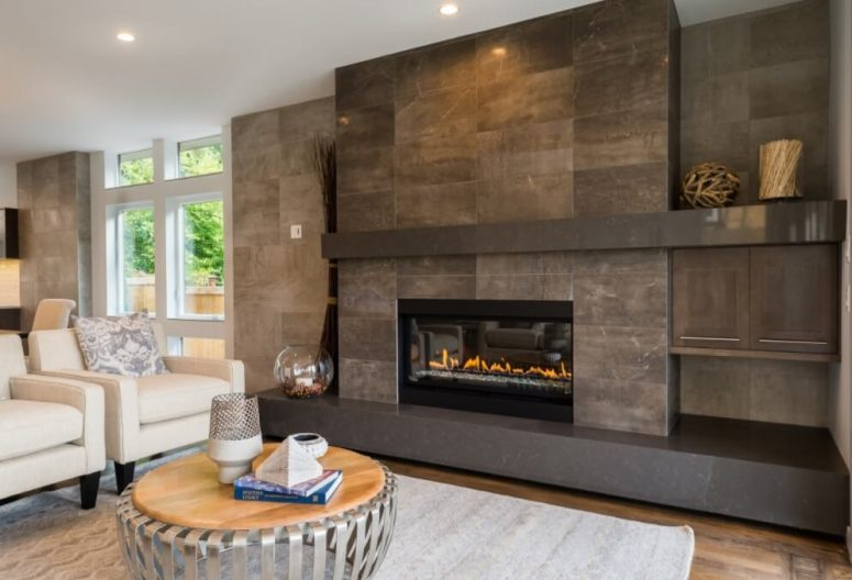 50+ Modern Fireplace Designs & Ideas for 2021   Don Pedro