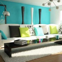 Living Room Ideas With Turquoise Walls Industrial Look 51 Stunning To Freshen Up Your Home Bedroom