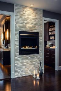 Tile Around Fireplace Ideas