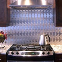 Backsplashes Kitchen Aid K45ss Stainless Steel Backsplash The Pros And Cons