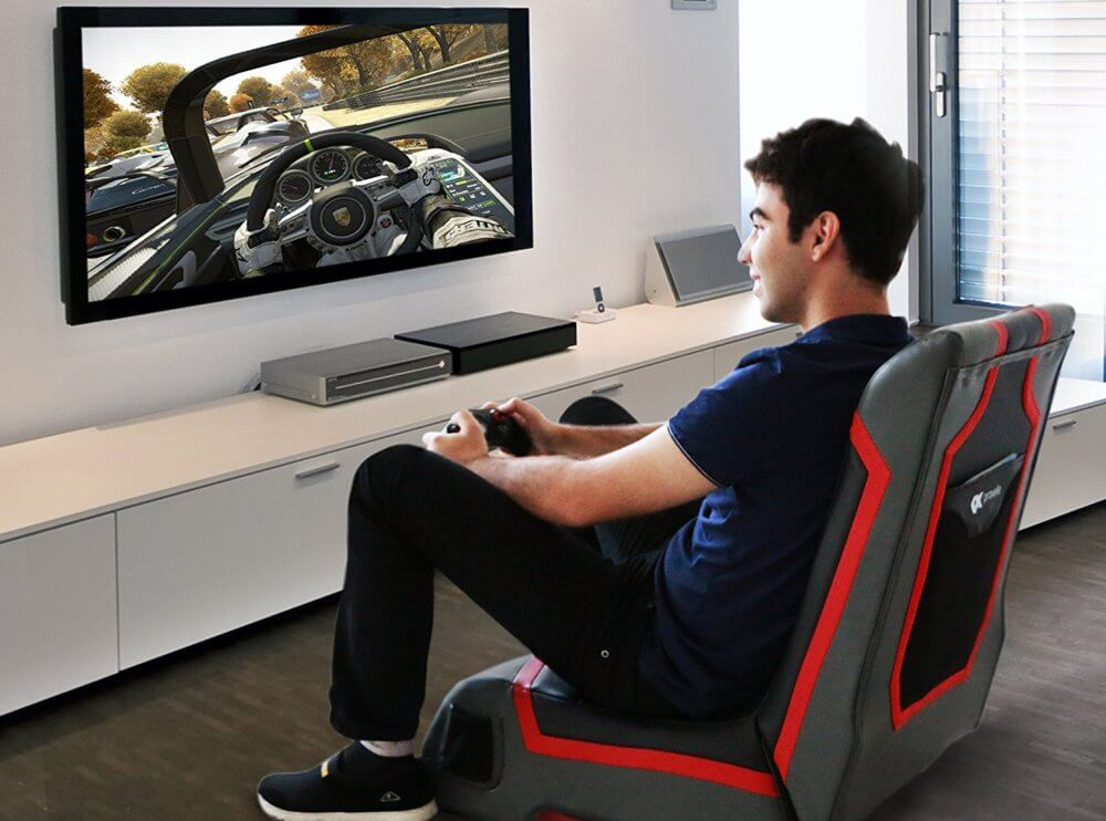 chair games for seniors swivel no wheels uk 50 best setup of video game room ideas a gamer s guide simple