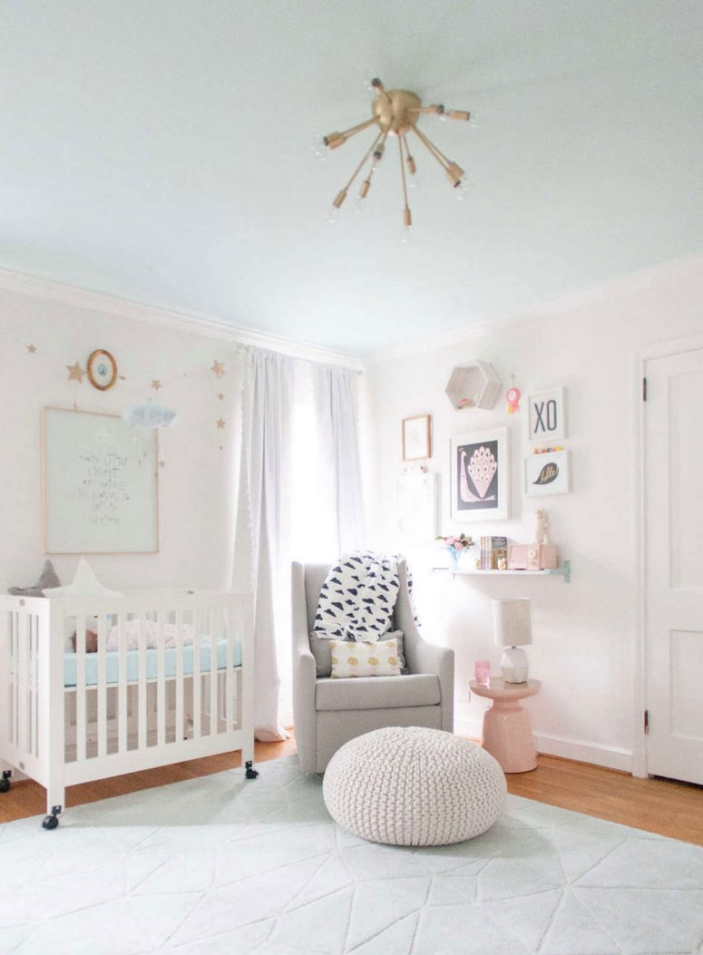 33 Cute Nursery for Adorable Baby Girl Room Ideas