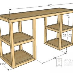 Folding Chair Rack Diy Baby Chairs Target 21 Ultimate List Of Computer Desk Ideas With Plans