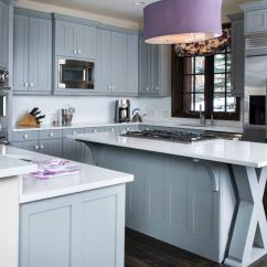 Blue Kitchen Sink Runner Washable 24 Cabinet Ideas To Breathe Life Into Your Set With White Countertop