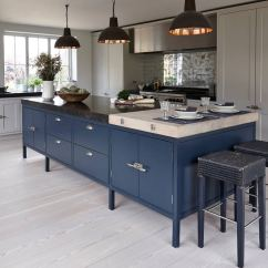 Blue Kitchen Island Composite Sink 24 Cabinet Ideas To Breathe Life Into Your Where Buy Cabinets