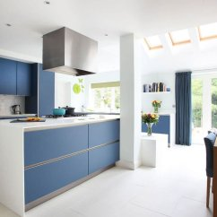 Kitchen Cabinets Set Red Cherry 24 Blue Cabinet Ideas To Breathe Life Into Your Minimalist In Color Light