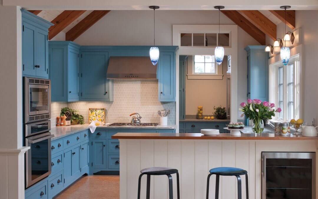 kitchen cabinets com small appliance 24 blue cabinet ideas to breathe life into your gorgeous