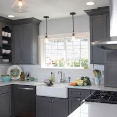 Gray Kitchen Cabinets Wholesale Supplies 21 Creative Grey Cabinet Ideas For Your U Shaped With