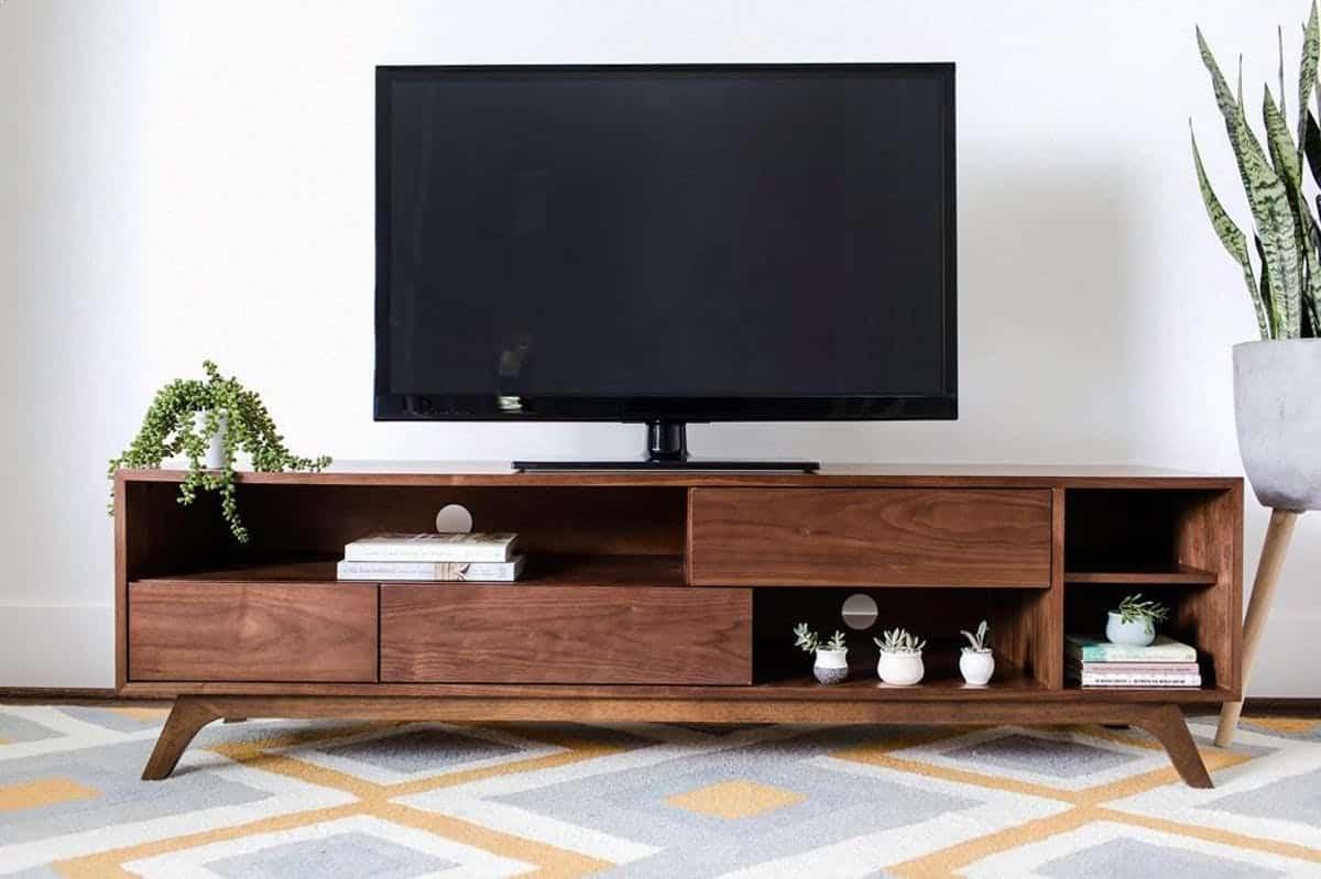 17 Stylish Mid Century Modern Tv Stand Ideas